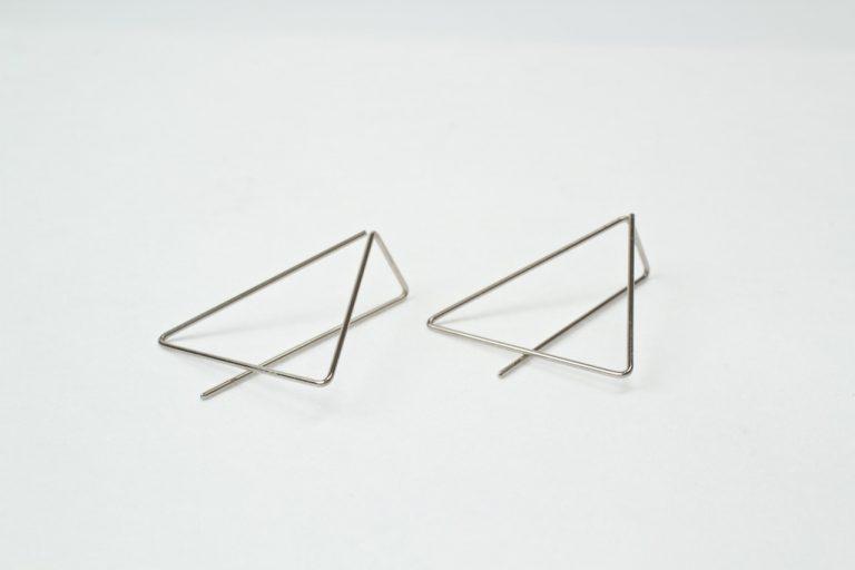 Ruimtelijk staal driehoek